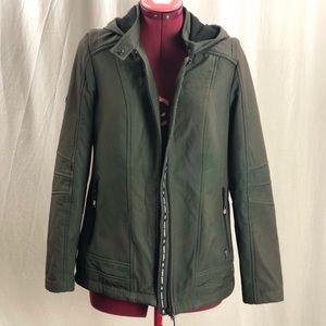 Point Zero fleece lined shell jacket